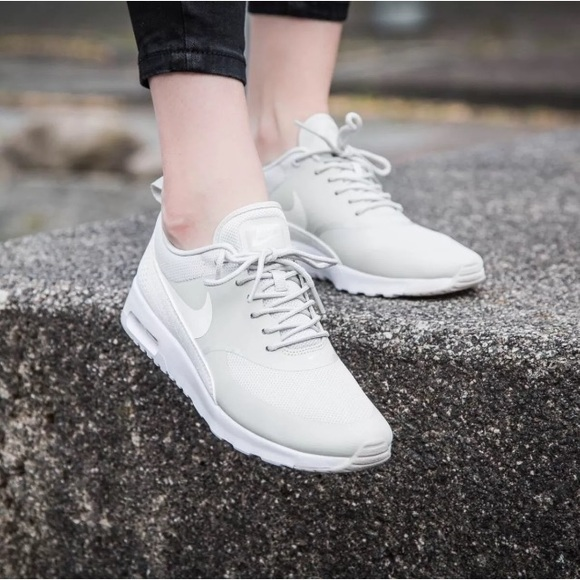 low priced 396f4 311dc Womens Nike Air Max Thea Light Bone Sneakers